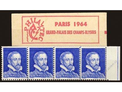 Philatec, Paris 1964, Grand-Palais des Champs, **