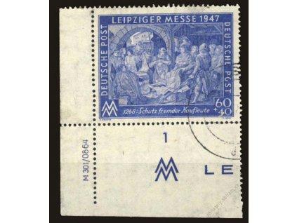 Společné vydání, 1947, 60Pf modrá, razítkované