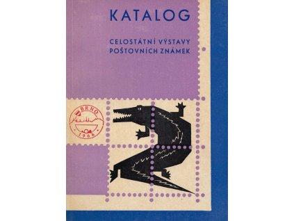 Katalog Brno 1966, Výstava známek, zachovalé
