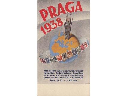 Výstava poštovních známek Praga 1938
