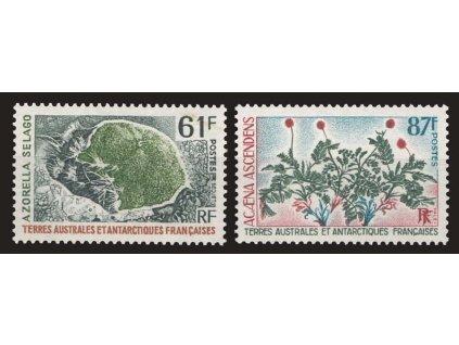 Antarktis, 1973, 61-87Fr série Flóra, MiNr.83-84, **