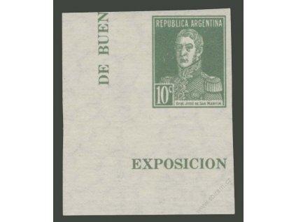 Argentina, 1935, 10C z aršíku, MINr.290B, těžší *