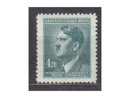 1945, 4.20K Hitler, Nr.122, **