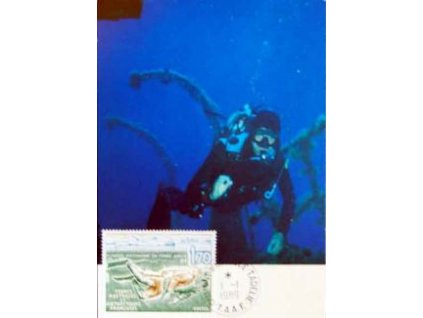 Antarktické území, 1989, DR Dumomt 1.1., Carte Maxima