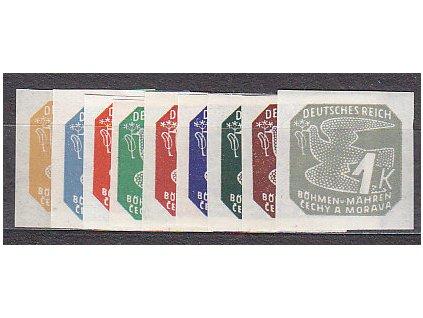 1943, 2h-1K Novinové II, série, Nr.NV10-18, **