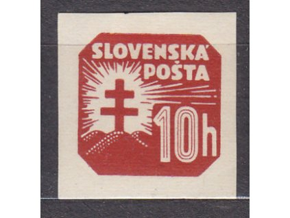 1939, 10h novinová, vodorovný rastr, Nr.NV14x, * po nálepce