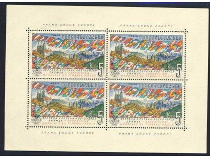 1961, 5Kčs aršík Prádlo, tisková deska A, Nr.A1216, **
