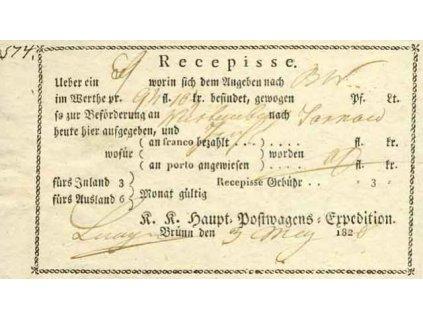 Brunn, 1826, recepis