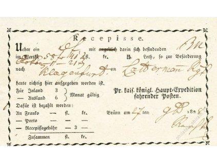 Brunn, recepis z roku 1838, přeloženo