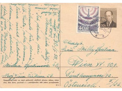 CDV 132 Zápotocký, DR Nový Jičín 29.1.1958