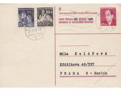 CDV 136 Zápotocký, DR Oslo a DR Praha
