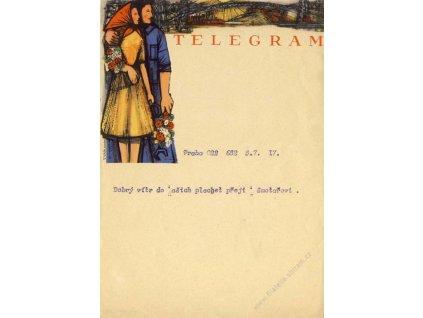 Telegram 770 Lx 4 (III-1949), prošlý