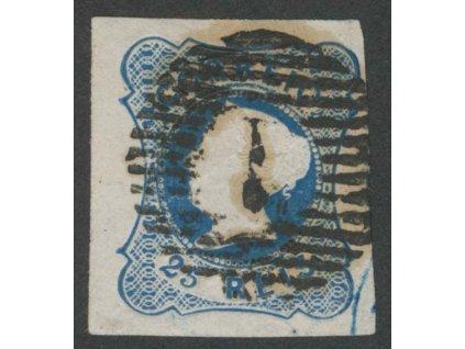 1853, 25R Maria, MiNr.2, razítkované