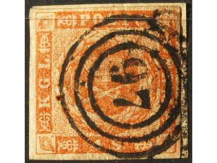 1854/58, 4S Znak, 2 ks, razítko 97 a 168