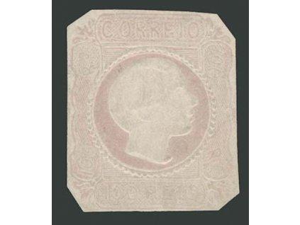 1855, 100R Pedro, MiNr.8, (*) , dv