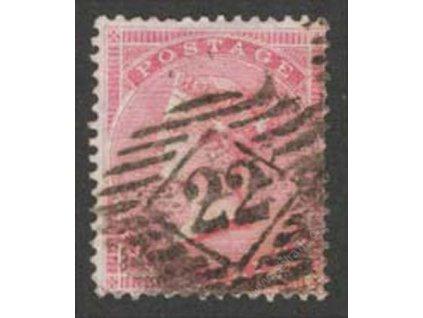1855, 4P Viktoria, MiNr.13Z, razítkované