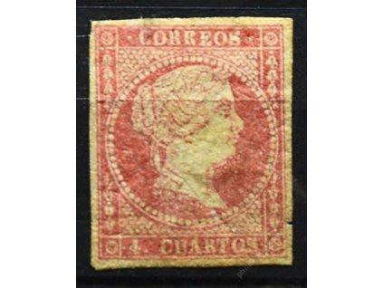 1856, 4Cs Isabella, slušné střihy, * po nálepce