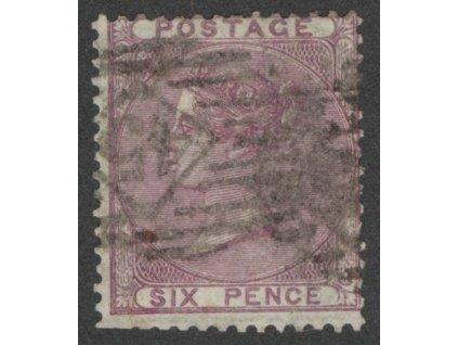 1856, 6P Viktoria, MiNr.14, razítkované, kz