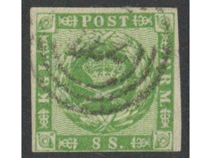 1858, 8S Znak, MiNr.8, razítkované