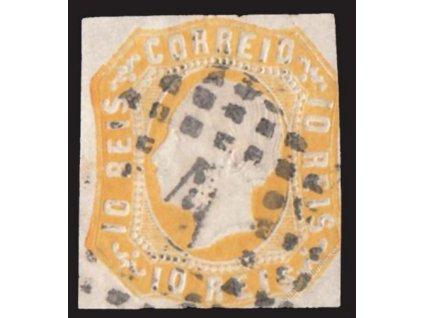 1862, 10R Luis, MiNr.13, razítkované