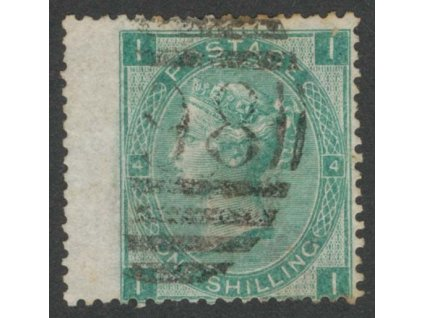 1865, 1Sh Viktoria, MiNr.27, razítkované