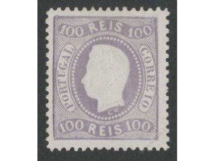 1866, 100R Luis, MiNr.23, (*)