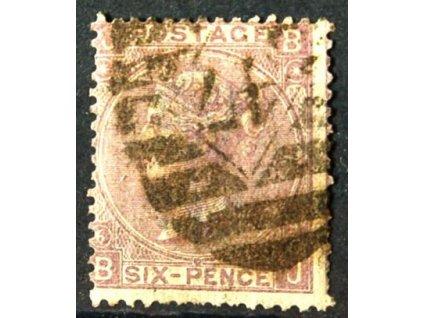 1867, 6P Viktoria, horší jakost