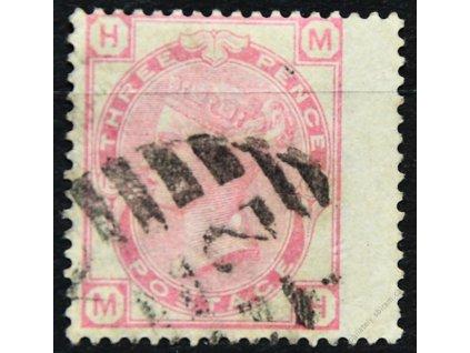 1867, 3P Viktoria, MiNr.28, razítkované