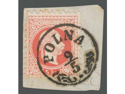 1867, DR Polna, výstřižek, MiNr.37, hezké