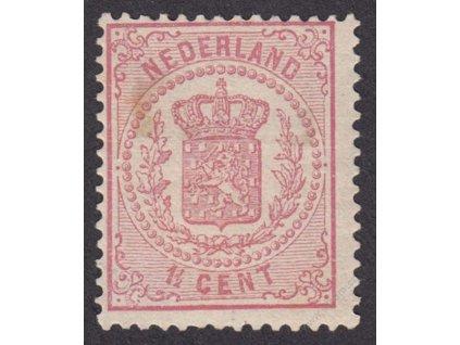1869, 1 1/2C Znak, MiNr.16B, mastná * , skvrnka