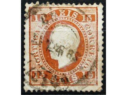 1870, 15R Luis, dv, MiNr.36, razítkovaná