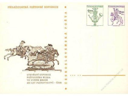 CDV 171 Poštovní muzeum