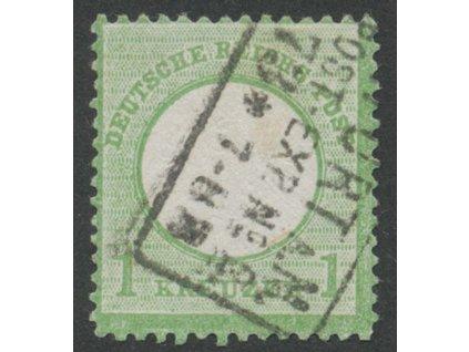 1872, 1Kr Orel, MiNr.23, razítkované