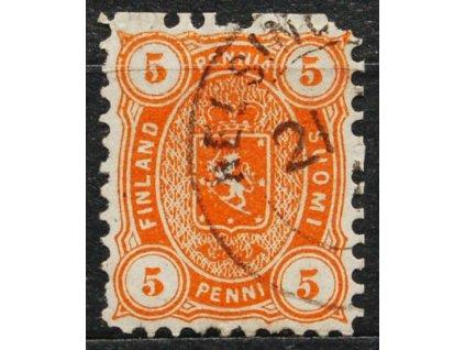 1875, 5P oranžová Znak, razítkovaná