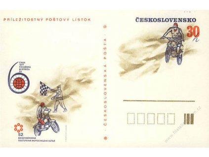 CDV 177 Motocyklová soutěž, VV - nedotisk