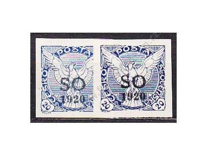 20h Sokol, 2 ks - odstíny barev, Nr.SO31, **/*