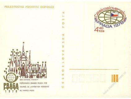 CDV 181 Praga 1978