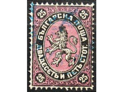 1881, 25St Znak, MiNr.10, razítkovaná