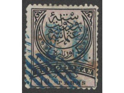 1881, 10Pa Znak, MiNr.5, razítkované, horší jakost
