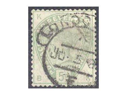 1883, 5P Viktorie, dv, MiNr.78, razítkovaná