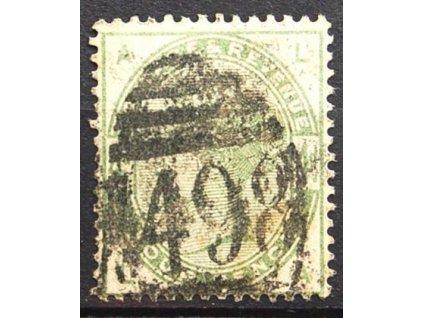 1883, 4P Viktoria, MiNr.77, razítkované