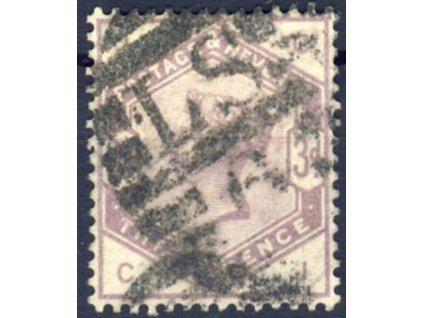 1883, 3P Viktoria, MiNr.76, razítkované, Mi.70Euro