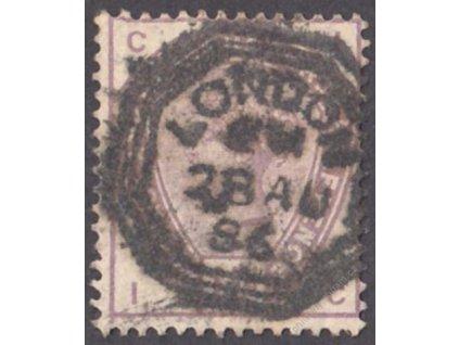 1883, 1 1/2P Viktoria, MiNr.73, razítkované