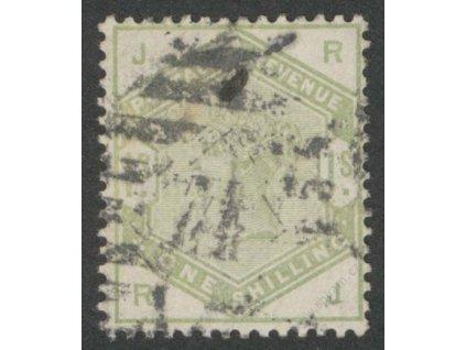1883, 1Sh Viktoria, MiNr.81, razítkované