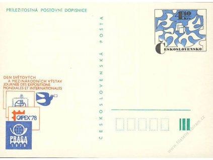 CDV 184 Praga 1978