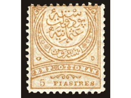1884, 5Pia Znak, Mi.60Euro, MiNr.49B, **