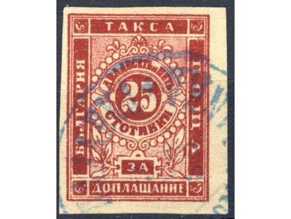 1885, 25St doplatní, MiNr.5, razítkované
