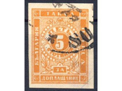 1885, 5St doplatní, MiNr.4, razítkované