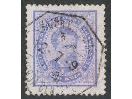 1887, 500R Luis, MiNr.64B, razítkované, dv