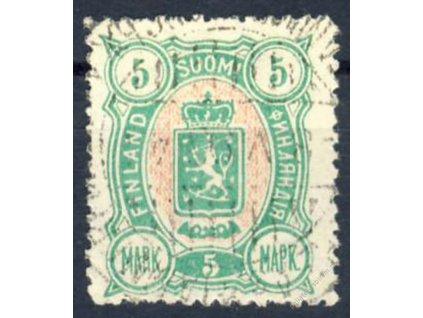 1889, 5M Znak, MiNr.33A, razítkované